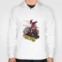 "infamous Hoodies featuring InFamous Second Son - ""ENJOY YOUR POWER"" by Emme Gray"