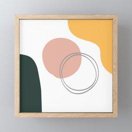Passing Through Framed Mini Art Print