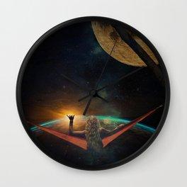 GOOD MORNING SPACE Wall Clock