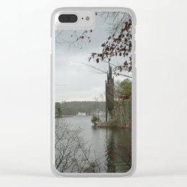 Stone Mountain Carillon Clear iPhone Case