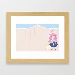 Chibi Hattie Framed Art Print