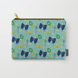 Water Princess Pattern Carry-All Pouch