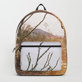 cactus in the desert Backpack