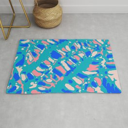 Coral Reef Sunlight Dream Rug