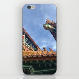 Chinese roof tops iPhone Skin