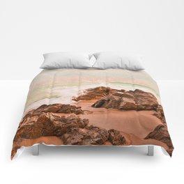 evening waves Comforters
