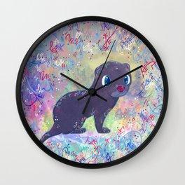 Mini Mink Wall Clock
