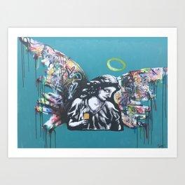 Urban Angel Art Print