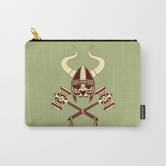 Viking skull v2 Carry-All Pouch