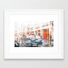 London Cars Framed Art Print