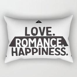 Sacred Symbols - Pyramid - All Seeing Eye - Love,Romance, Happiness - Secret Rectangular Pillow