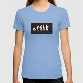 The theory of evolution(kendo) T-shirt