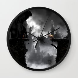 the beauty and the beast Wall Clock