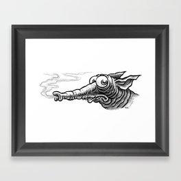 Whiffer Framed Art Print