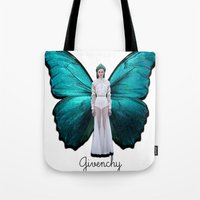 givenchy Tote Bags featuring Papilio Givenchy Unframed by GirlAnnachronism