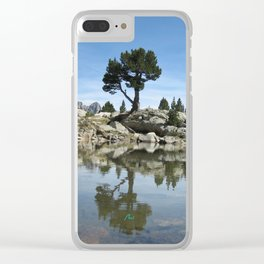Aigüestortes Clear iPhone Case