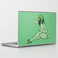 walrus Laptop & iPad Skins featuring Walrus by Christine Alexandria