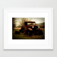 ford Framed Art Prints featuring Ford by Urban Frame Photography