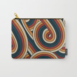 Vintage Doodle Swirls Carry-All Pouch