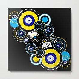 Circle of My Eye Metal Print