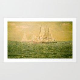 41° 30'N 71° 20'W   Art Print
