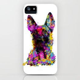 Belgian Shepherd - Malinois puppy iPhone Case