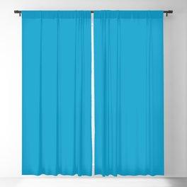 Striking Cyan Blackout Curtain