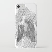puppies iPhone & iPod Cases featuring hush puppies by lalip