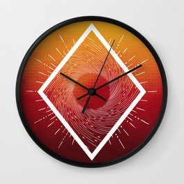 Ethereal Being - I Wall Clock