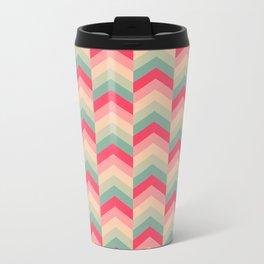 Colorful Arrow Pattern Travel Mug