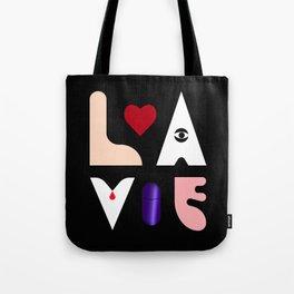 LOVE X LIFE Tote Bag