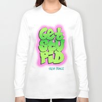 fresh prince Long Sleeve T-shirts featuring Fresh Prince by DeMoose Art