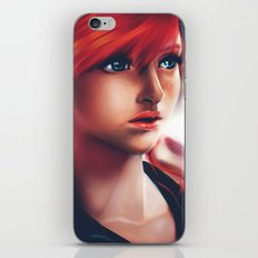 Vanille painting iPhone & iPod Skin