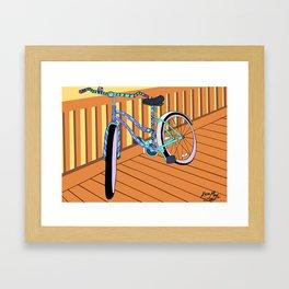 Beach-Cruisin' Framed Art Print