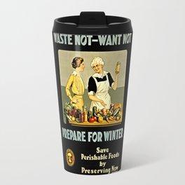 Waste Not Want Not Travel Mug