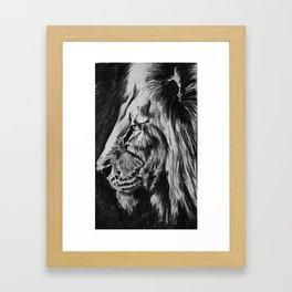Black Framed Art Print