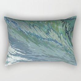 Churning Up Rectangular Pillow