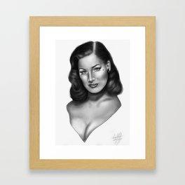Teese  Framed Art Print