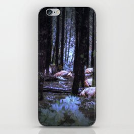 Faces in the Woods mod iPhone Skin