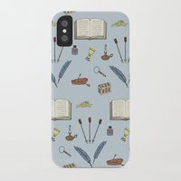 literature iPhone & iPod Cases featuring Classic Literature by Meghan Hill