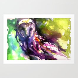 Owl Have What She's Having Art Print