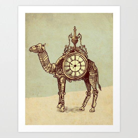 Desert Time Art Print