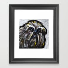 Bumble, the Abominable Snowman Framed Art Print