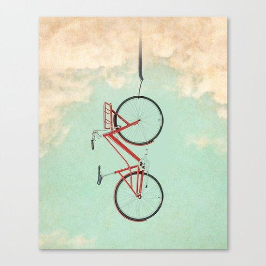 Bike Rack Canvas Print