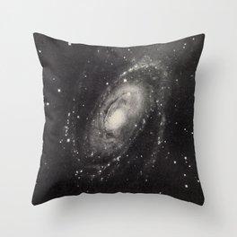 Nebula M81 Ursa Major Throw Pillow