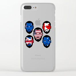 Spying The 5 Eyes Clear iPhone Case
