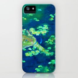 Fredrick the Frog AGregoryArt iPhone Case