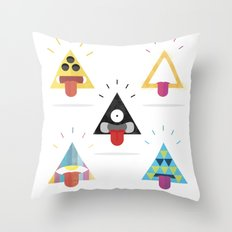 Choose your triangle. Throw Pillow