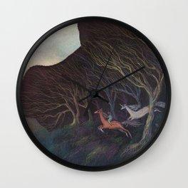 Adventures in the Dark Woods Wall Clock