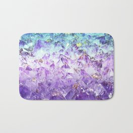 Alexandrite crystal rough cut Bath Mat